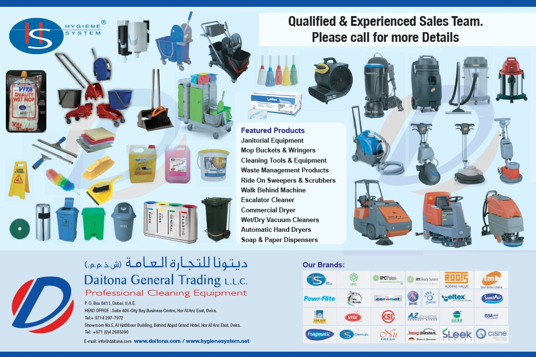 Professional Cleaning Machines And Equipment