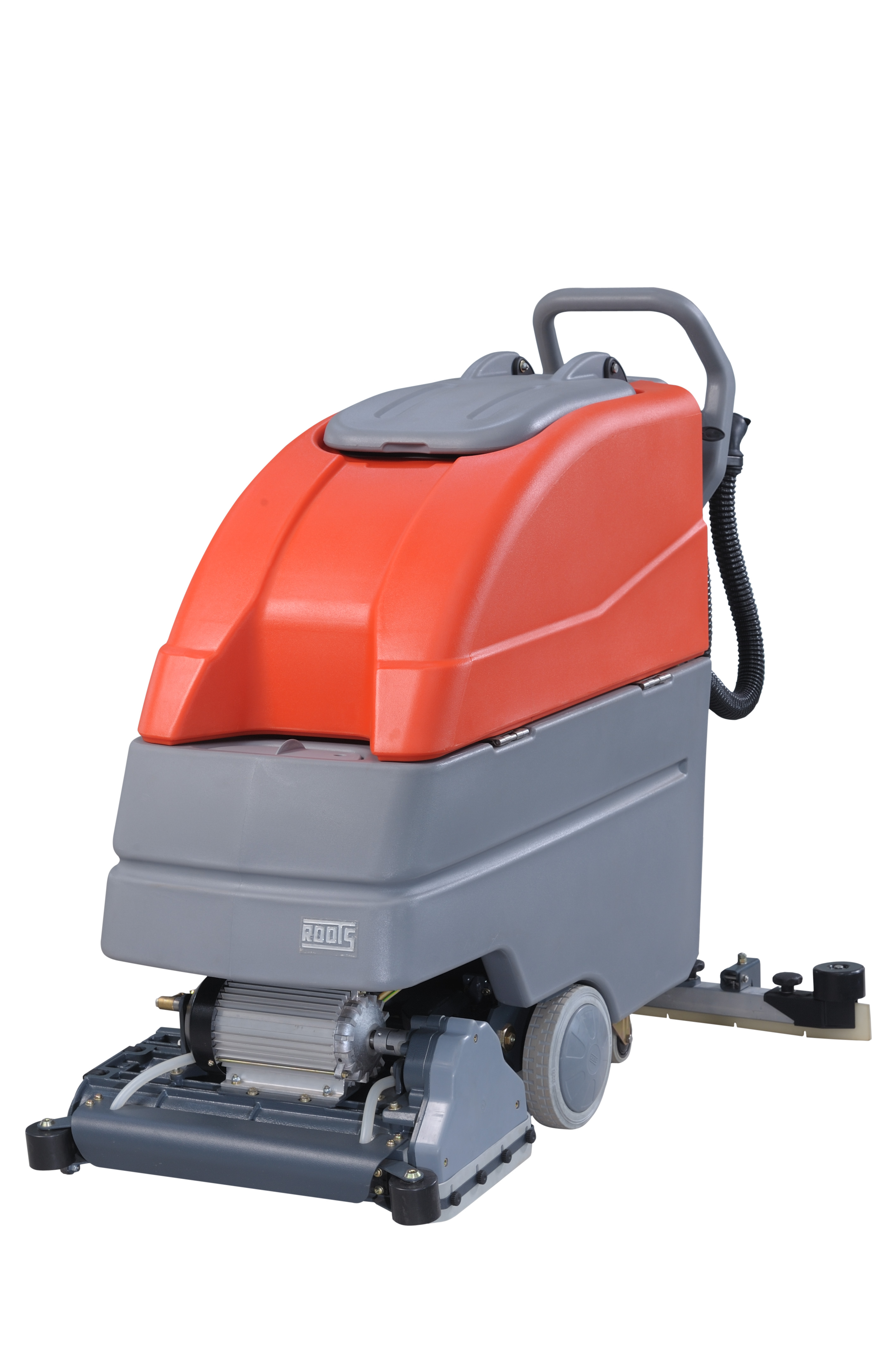 Cylindrical Brush Scrubber Dryer