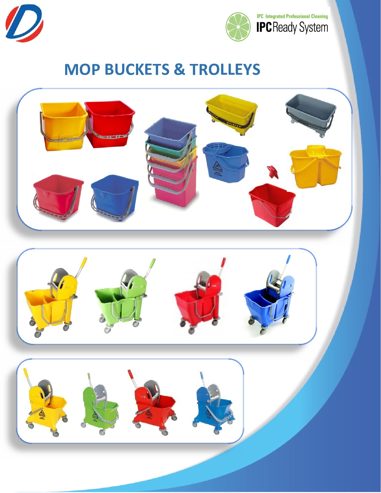 Mop Buckets And Mop Wringers