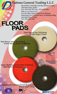 Floor Pads For Cleaning Machines