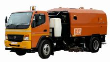 Truck Mounted Road Sweeper RSR6000