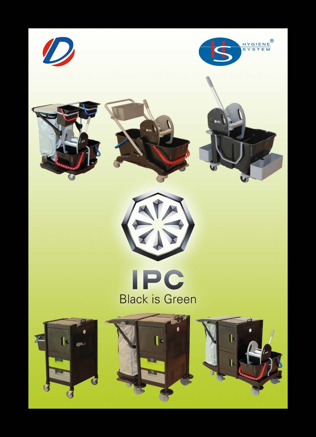 Ipc Black is Green Range