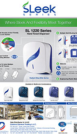 SL 1220 Mini Hand towel dispenser