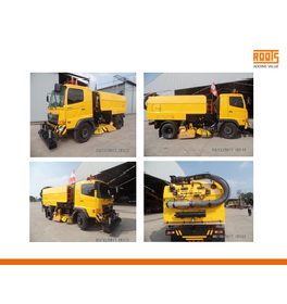 ROOTS AIRPORT RUNWAY SWEEPER