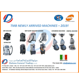 TMB CLEANING MACHINES NEW RANGES